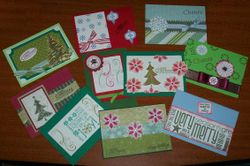 Christmas Stack of 10 cards