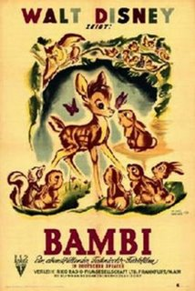 Bambi - blog award from Yvonne