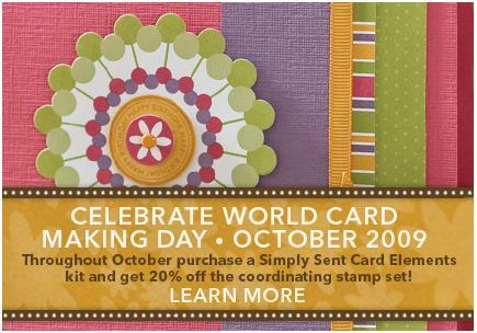 World Card Making Day 2009