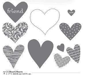 I {Heart} Hearts stamp set